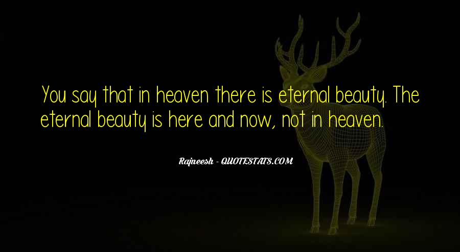 Beauty Is Eternal Quotes #1139055