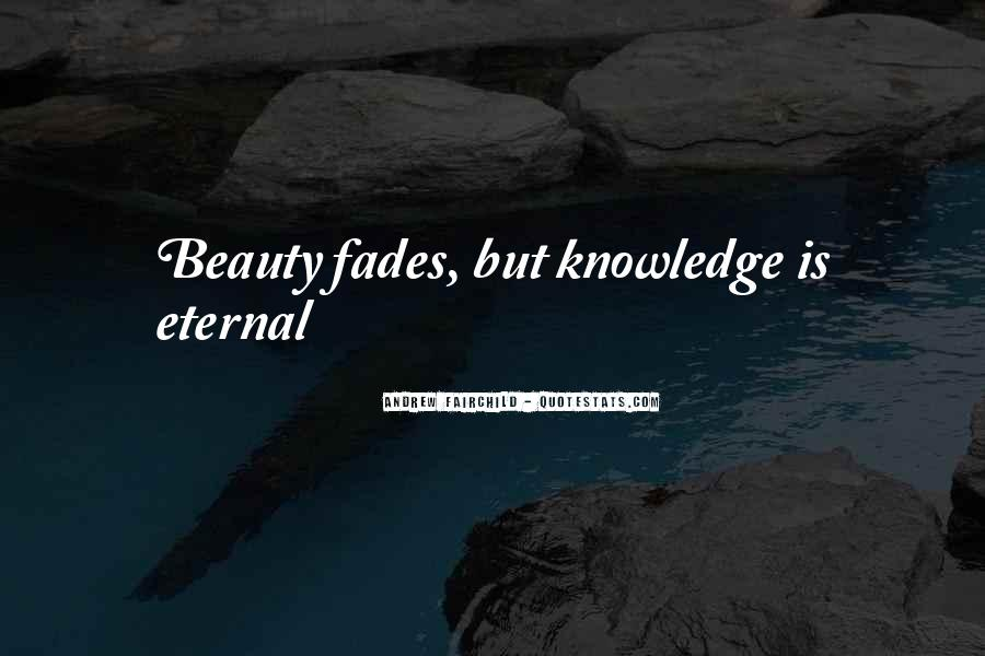 Beauty Is Eternal Quotes #1436900