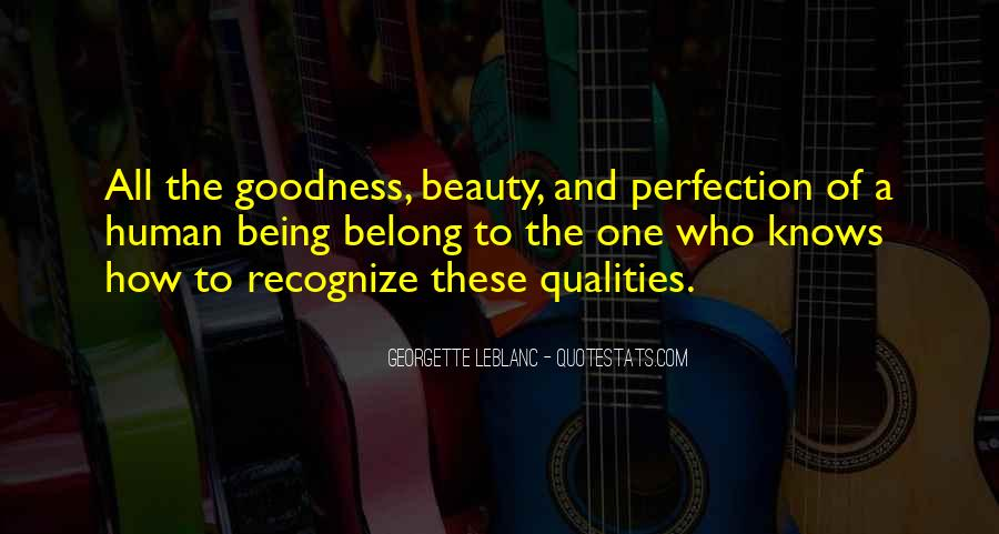 Beauty Is Not Perfection Quotes #444840