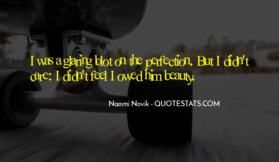 Beauty Is Not Perfection Quotes #675614