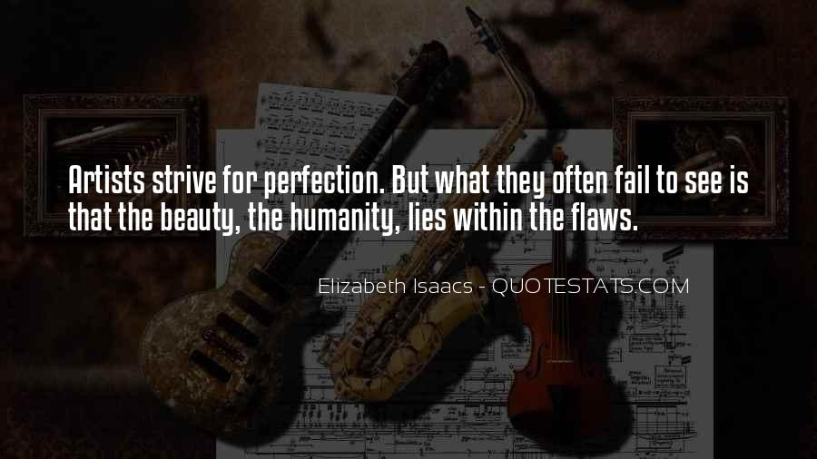 Beauty Is Not Perfection Quotes #721565