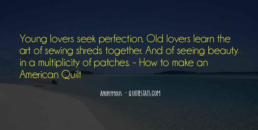 Beauty Is Not Perfection Quotes #762544