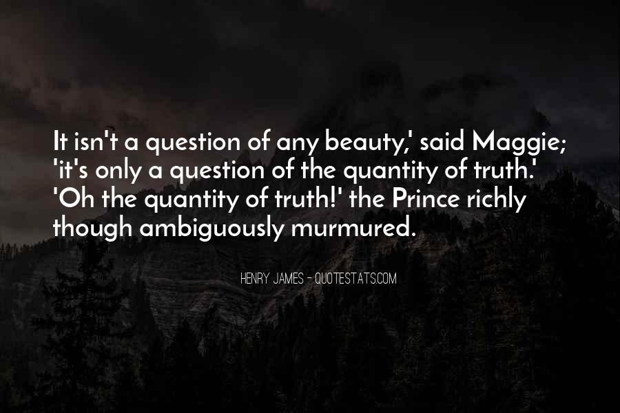 Beauty Isn't All Quotes #128966