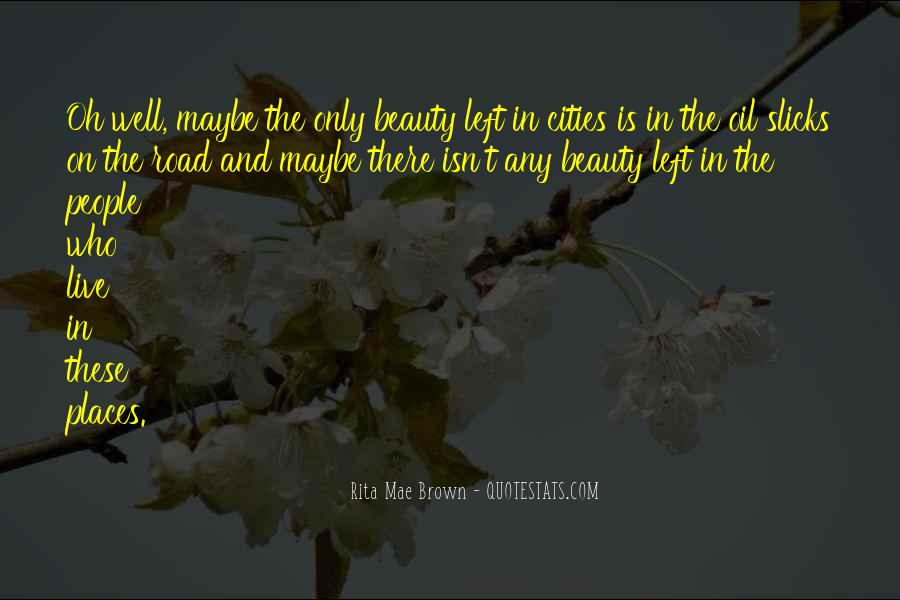 Beauty Isn't All Quotes #490551