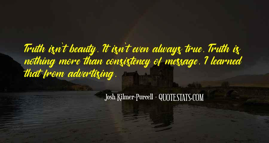 Beauty Isn't All Quotes #695189