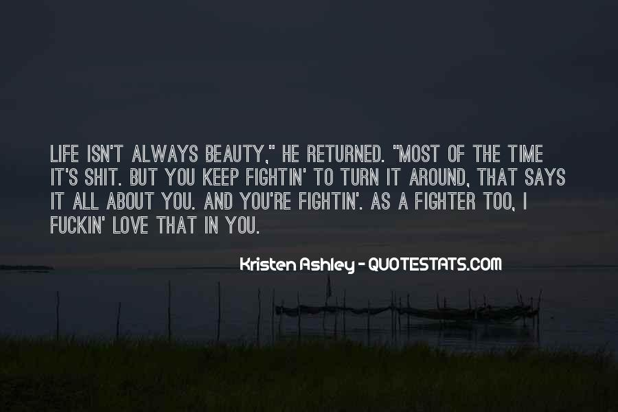 Beauty Isn't All Quotes #983800