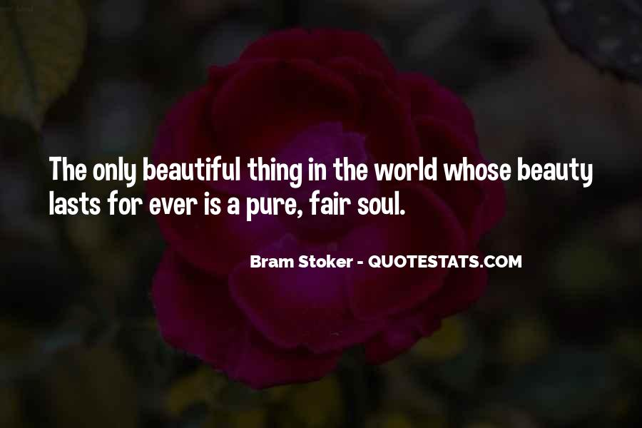 Beauty Pure Quotes #1158435