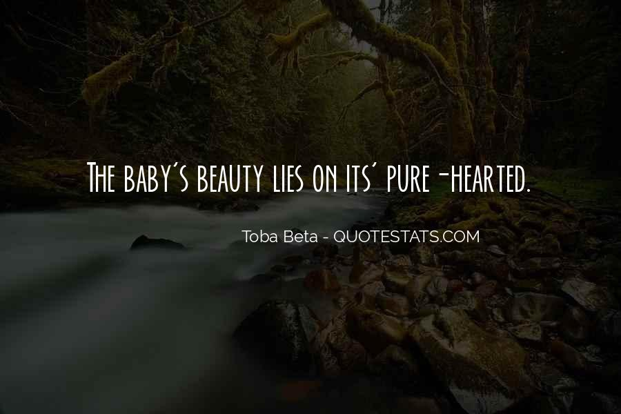 Beauty Pure Quotes #813641