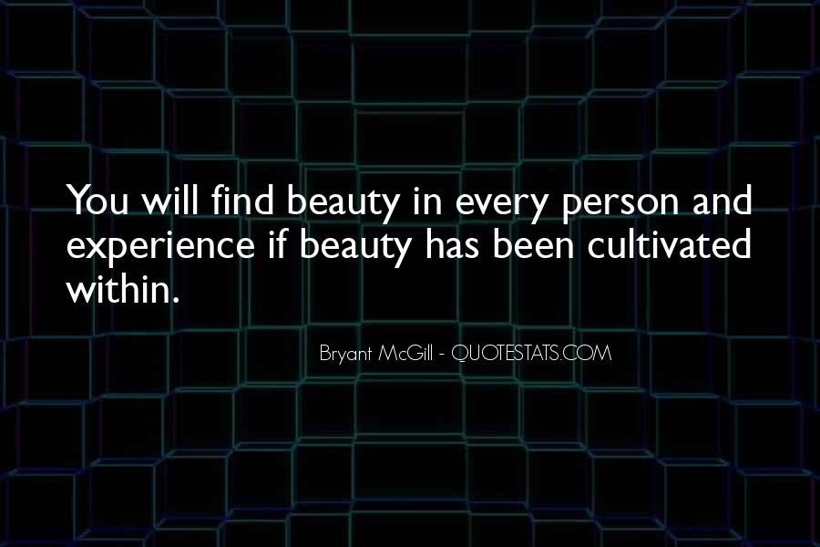 Beauty Within You Quotes #1198598