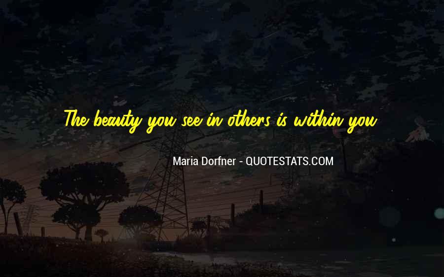 Beauty Within You Quotes #1682535