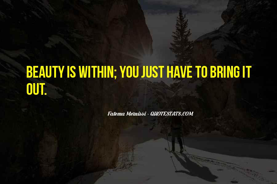 Beauty Within You Quotes #663997