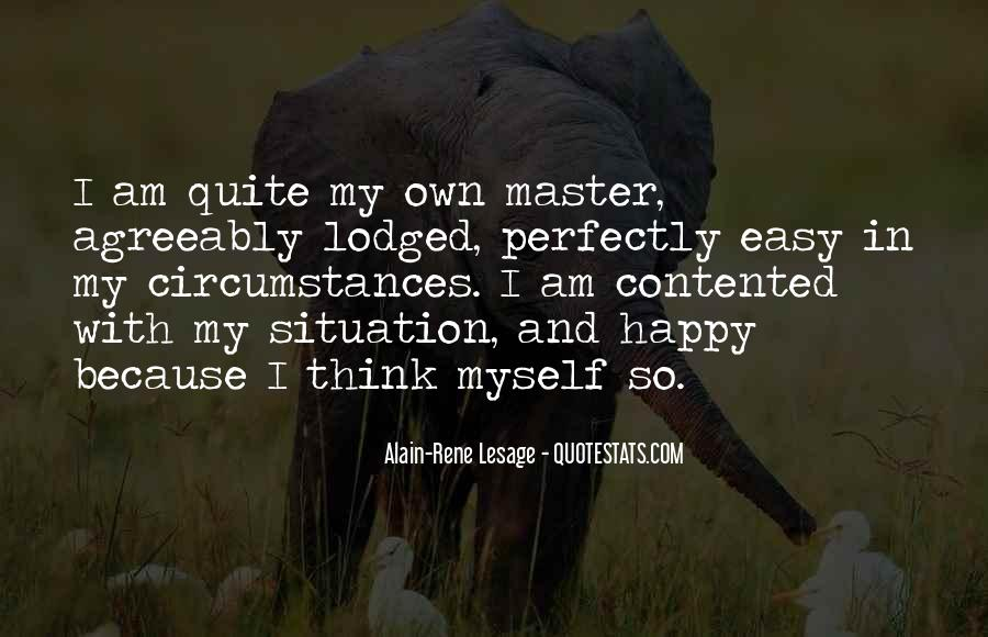 Because I Am Happy Quotes #1323301