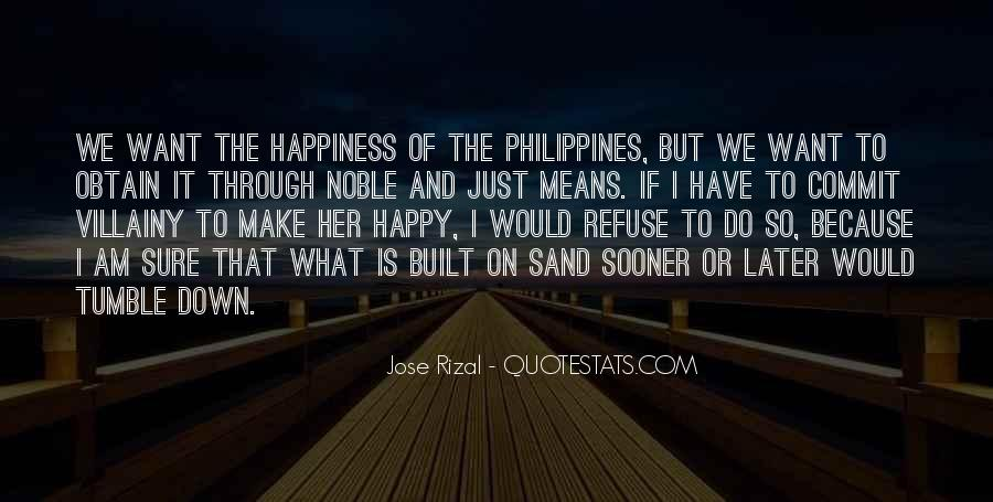 Because I Am Happy Quotes #626899