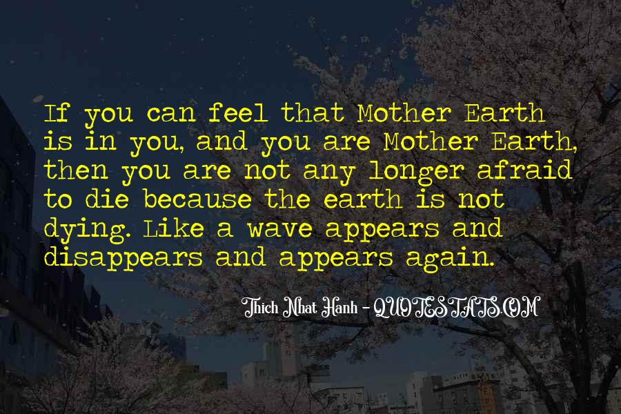Because I Am Your Mother Quotes #7826