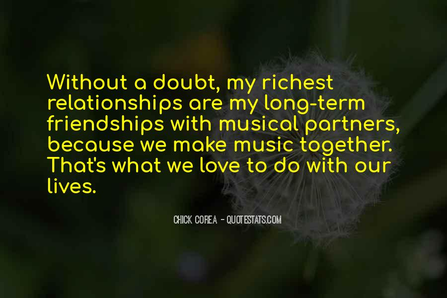 Because Without Love Quotes #398030