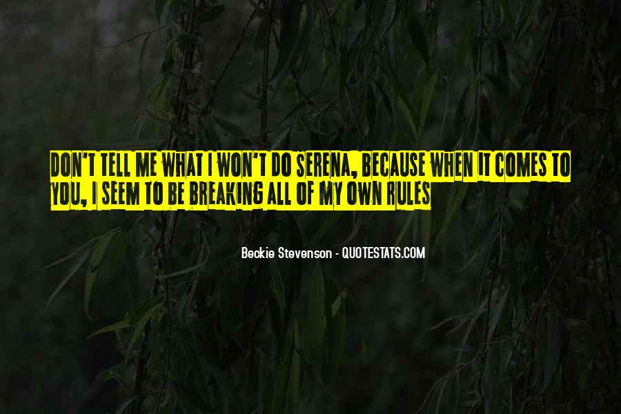 Beckie Scott Quotes #1658531