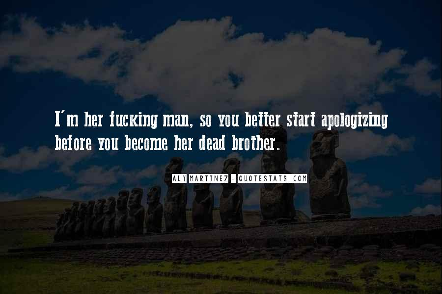Become A Better Man Quotes #312283
