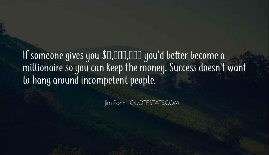 Become A Millionaire Quotes #1026869