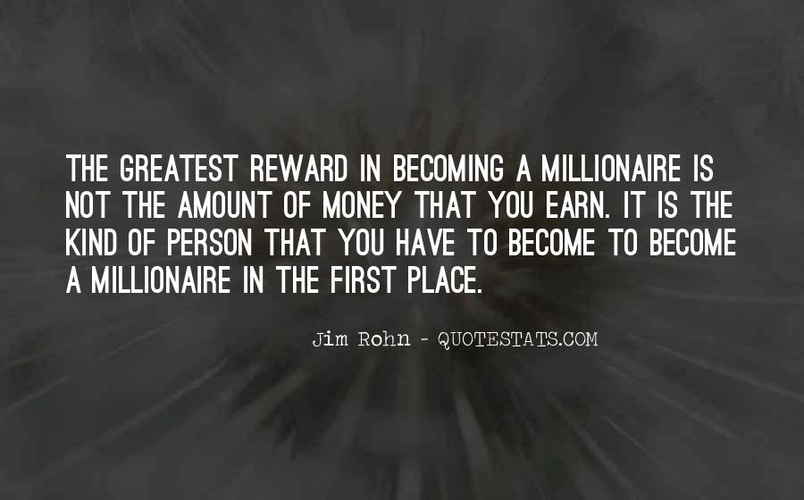 Become A Millionaire Quotes #1158659