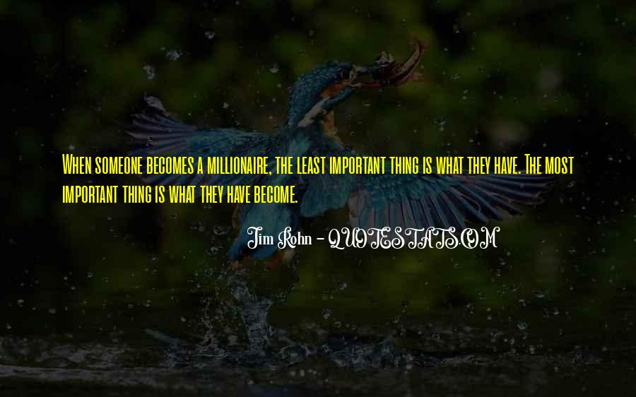 Become A Millionaire Quotes #1592246