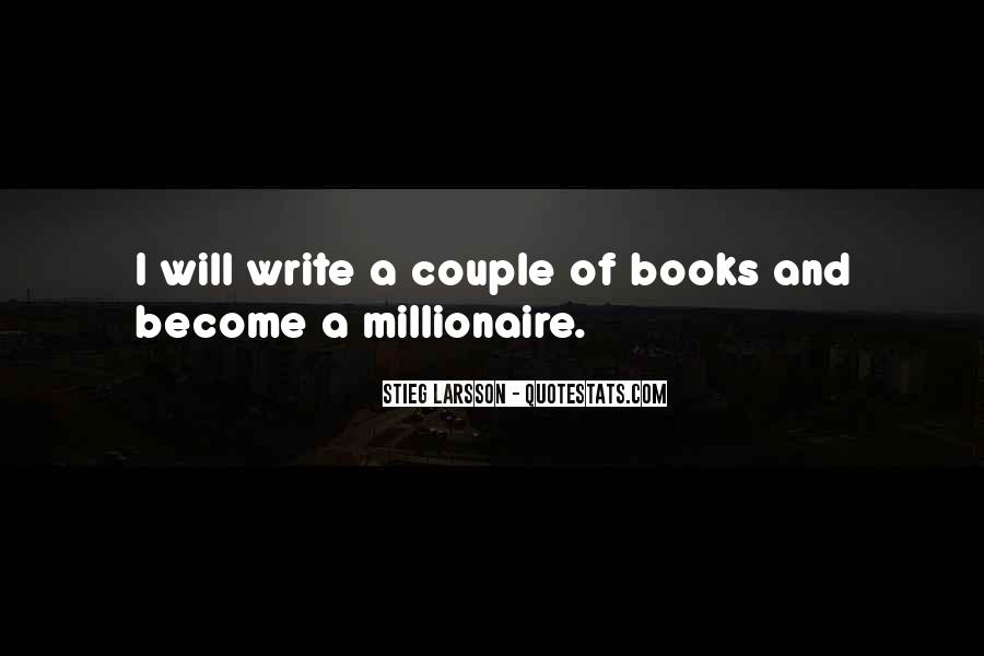 Become A Millionaire Quotes #558185