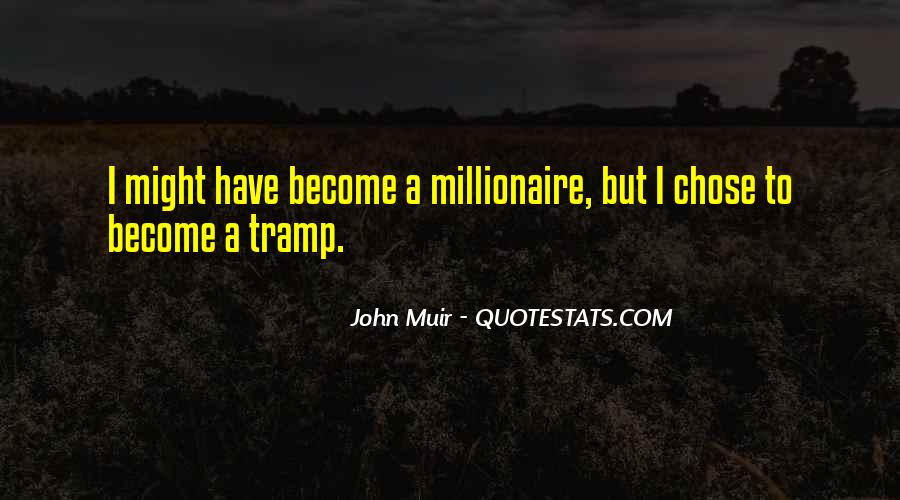 Become A Millionaire Quotes #799604