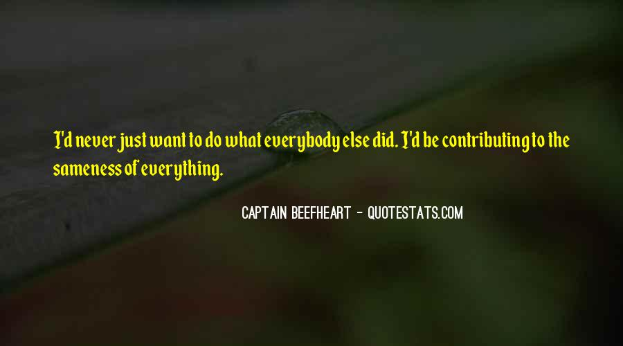 Beefheart Quotes #1579504