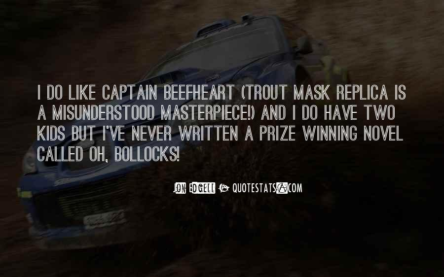 Beefheart Quotes #704651