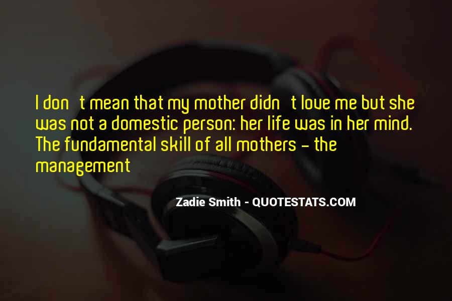 Quotes About Mean Mothers #927227