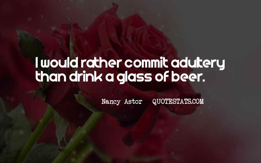 Beer And Alcohol Quotes #1147083