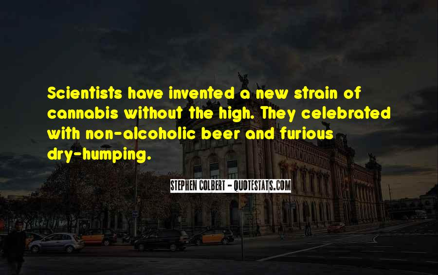 Beer And Alcohol Quotes #1334012