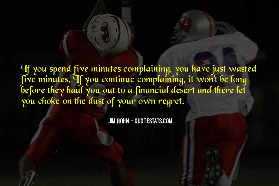 Before Complaining Quotes #1810065