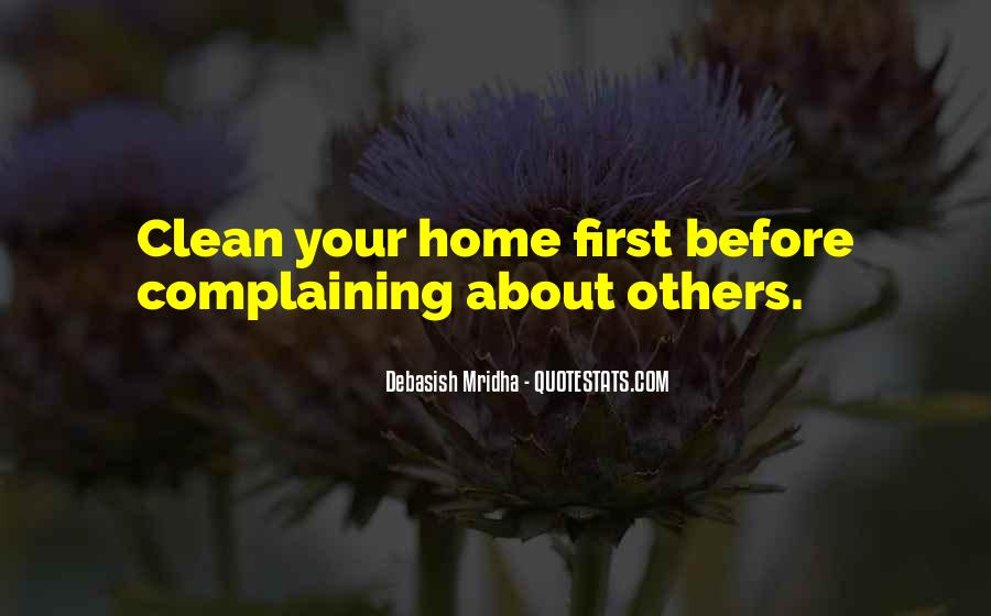 Before Complaining Quotes #387351