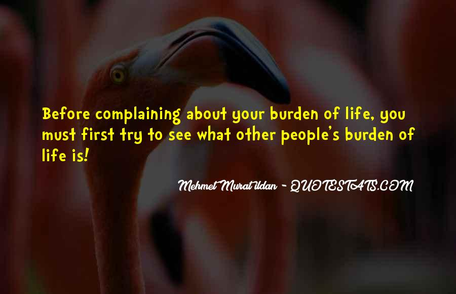 Before Complaining Quotes #598819