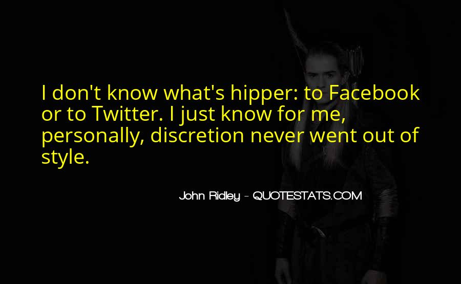 Quotes About Me For Facebook #1876949