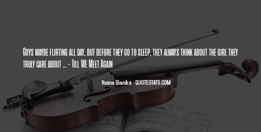 Before We Go To Sleep Quotes #1503964