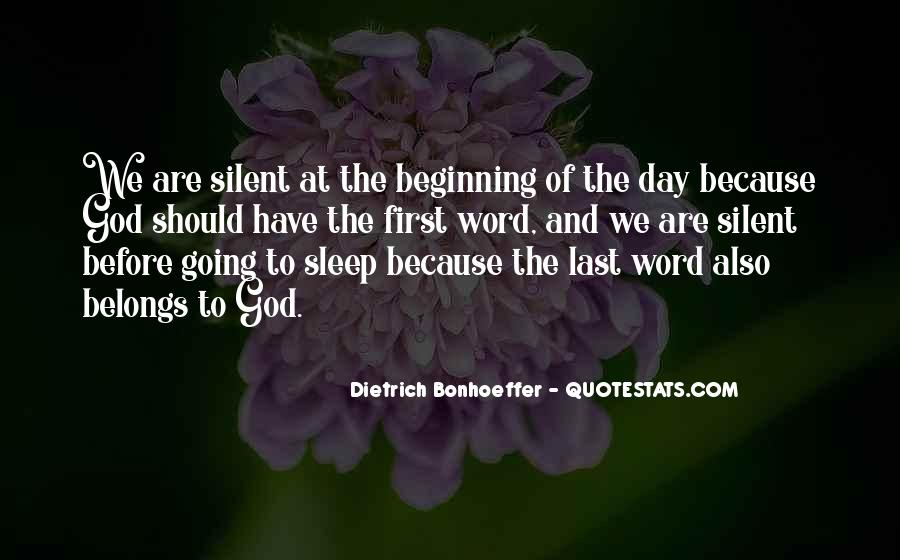 Before We Go To Sleep Quotes #45158