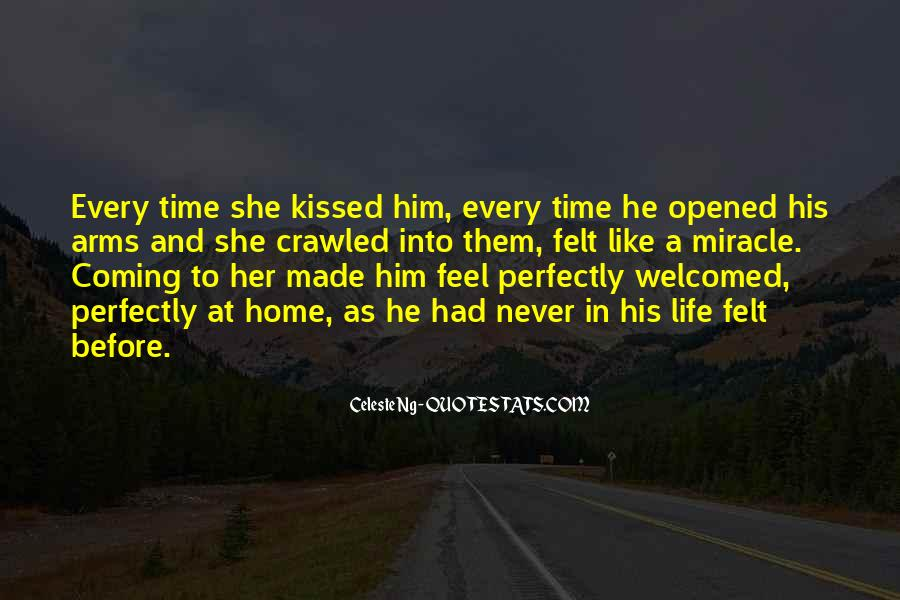 Before You Come Into My Life Quotes #8752