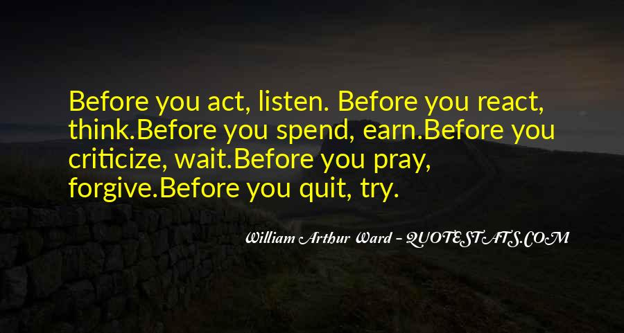 Before You React Quotes #1766273