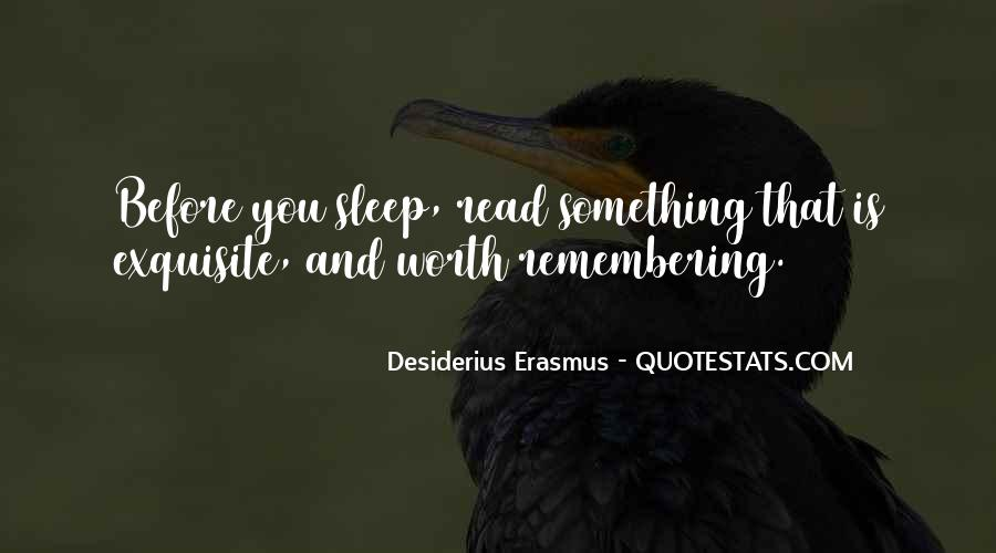 Before You Sleep Quotes #1127373