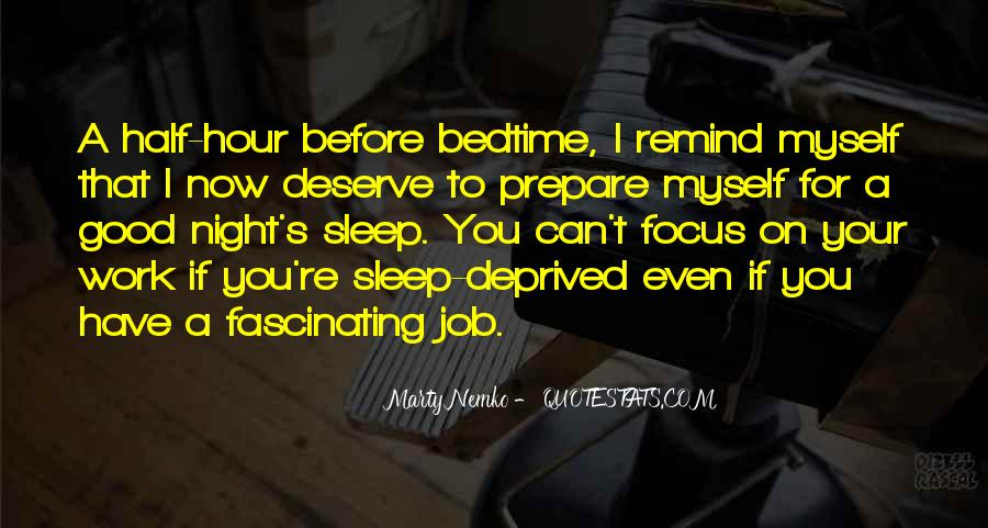 Before You Sleep Quotes #1133030