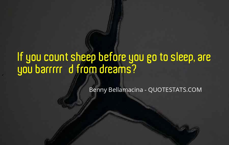 Before You Sleep Quotes #1163428