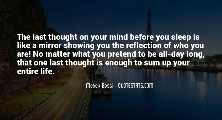 Before You Sleep Quotes #1223133