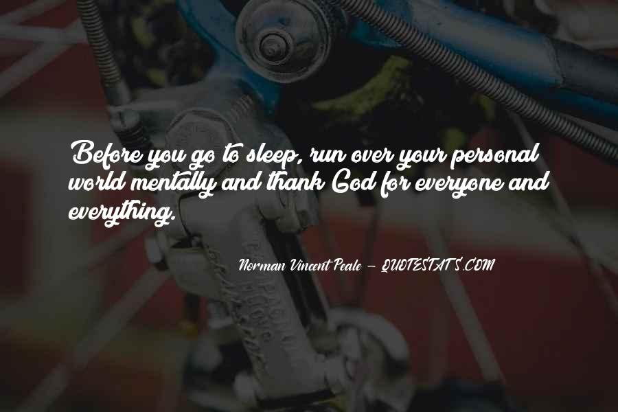 Before You Sleep Quotes #1310383