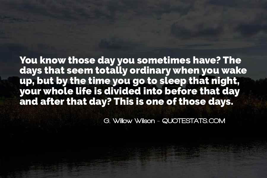 Before You Sleep Quotes #1330557