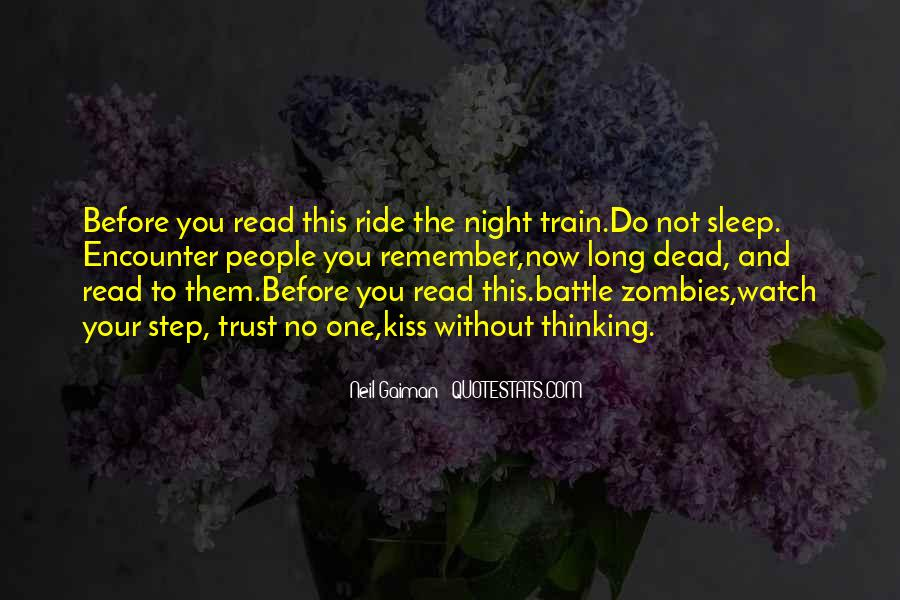 Before You Sleep Quotes #1547892