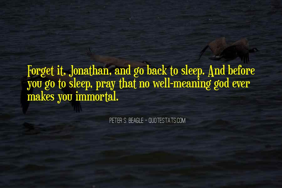 Before You Sleep Quotes #1557056