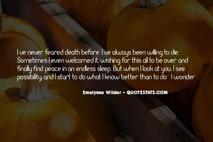 Before You Sleep Quotes #193647