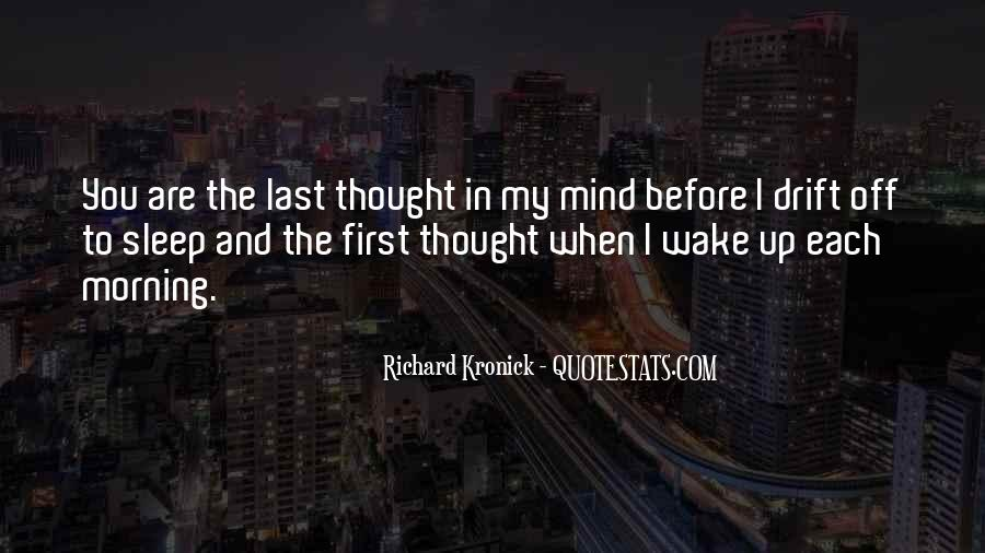Before You Sleep Quotes #28135