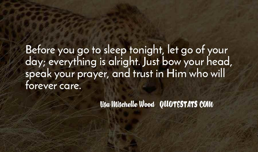 Before You Sleep Quotes #632205